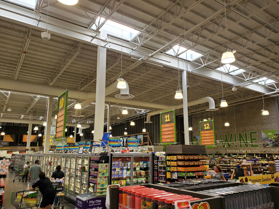 Savemart - A commercial interior painting project