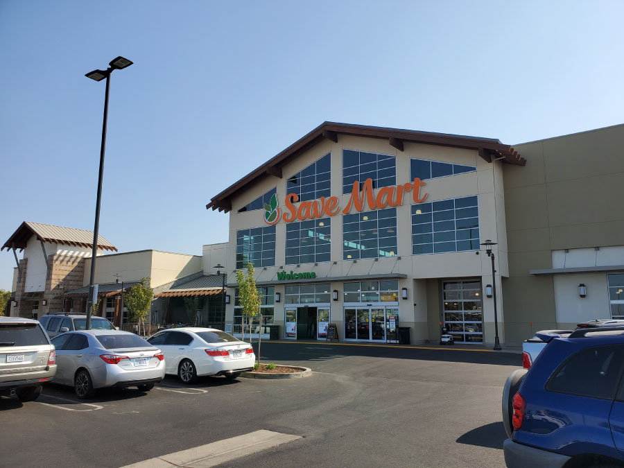 Savemart - A commercial exterior painting project